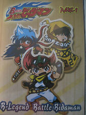 B-Legend Battle Bidaman Part 1 Import DVD Anime Set