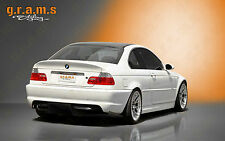 BMW 3 Series E46 Rear Diffuser / Undertray for Racing, Performance, Aero v4