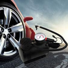 Black Portable 12V Auto Car Electric Air Compressor Tire Infaltor Pump 300 PSI#F