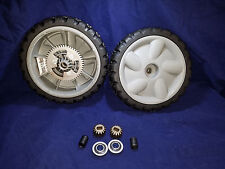 OEM Lawnboy Lawnmower Updated  Complete Wheel KIT for 119-0321 With Metal Gears