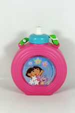 Dora the Explorer - PINK STAR DRINK BOTTLE with CARRY STRAP Brand New