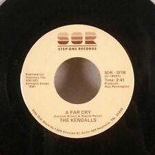"The Kendalls A Far Cry / Routine 7"" 45 Step One Records single EX"