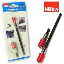 "HILKA Quick Release Bit Holders Magnetic 60 / 150 mm 1/4"" hex Drill Screwdriver"