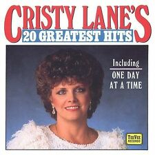 20 Greatest Hits by Cristy Lane (Cassette, Nov-1995, Teevee Records)
