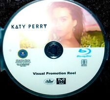 KATY PERRY Visual Promotion Reel 30 Music Videos BLU-RAY DVD 2.5 Hours FREE SHIP