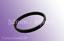 52mm to 49mm Male-Female Stepping Step Down Filter Ring Adapter 52mm-49mm