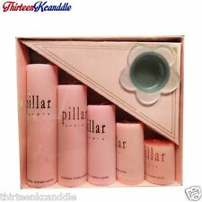 PILLAR DRIPLESS SMOKELESS CANDLE HANDMADE SPA OFFICE HOME DECOR WHOLSALE RATE