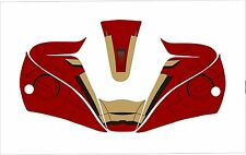 LINCOLN VIKING 2450 3350 WELDING HELMET WRAP DECAL STICKER IRON MAN  jig welder