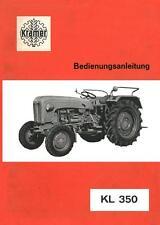 Bedienung Kramer KL 350 Traktor Schlepper