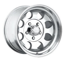 "4-NEW Pacer 164P LT Mod Polished 15x8 5x139.7/5x5.5"" -19mm Polished Wheels Rims"