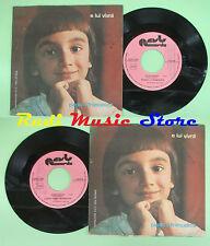 LP 45 7'' PAOLO E FRANCESCA E lui vivra' Hard child 1977 italy REUL no cd mc dvd