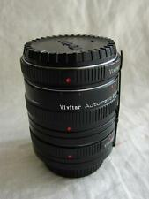 Minolta md adapter vivitar automatic extension tube 12mm 20mm 36mm AT-5 + case