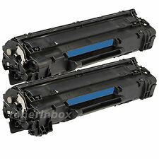 2 Pack 125 Toner Cartridge For Canon ImageClass MF3010, LBP6000, LBP6030w