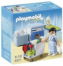 Playmobil 5271 Summer Fun Hotel Housekeeping House Cleaning Service Kids Play