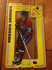 1975 76 Carlton Craft SEALED Hockey Heroes Stand-Up DOUG RISEBROUGH MONTREAL CAN