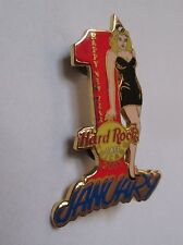 Pin's Hard Rock Cafe Chicago - 1st january 2002 new year (pin up double attache)