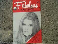 Fabulous Las Vegas Magazine Eddie Jackson Sharon DeBruin Harry James 12/18/1971