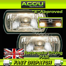 Ring 12v Car 4x4 Van Rectangular Driving Halogen Spot Lamps Lights - Pair RL022
