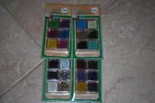 "Treasured Memories 1/8"" Lot Eyelets Variety w/Cases Scrapbooking Stamping Craft"
