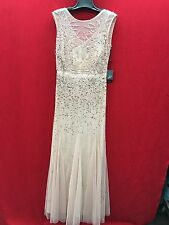 ADRIANNA PAPELL GOWN/NEW WITH TAG/RETAIL$300/COLOR BLUSH/SIZE 2/NEIMAN MARCUS