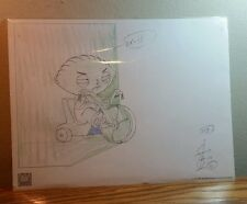 """FAMILY GUY EXCLUSIVE EDITION """"STEWIE ON TRICYCLE"""" LITHOGRAPH PRINT (2005/COA)"""
