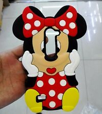 3D Minnie Mouse Soft Silicone Back Case For LG Leon 4G LTE H340N C50