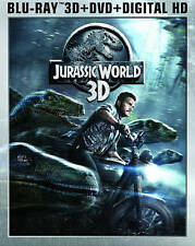 Jurassic World 3D + 2D Blu-ray/DVD Includes Digital Copy - SHIPS SAME DAY