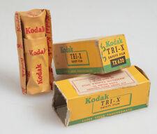 620 KODAK TRI-X NEW IN BOX ,SET OF 2