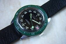 A VIALUX SUPER MANUAL WIND DIVERS CALENDER WRISTWATCH c.MID 1960'S