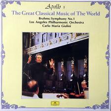 CARLO MARIA GIULINI / Brahms Symphony No.1 / DGG 415 737-1