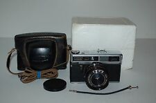 Lomo Sokol 2 Vintage 1982 Rangefinder Camera. Tested With Batteries. Case & Box.