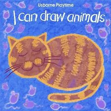 I Can Draw Animals (Usborne Playtime Series), Ray Gibson, Good Book