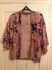 Ladies kimono style jacket by River Island, size 8