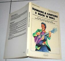 Andrea Carpi SUONARE & CANTARE IL ROCK 'N' ROLL Anthropos 1982 Rock'n'roll