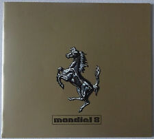 1980 Ferrari Mondial 8 Original Dealer Sales Brochure Catalog Prospekt