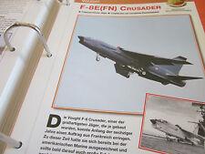 Faszination 5 149 Vought F 8E(FN) Crusader Trägergestützter Jäger  Frankreich