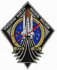 Patch Écusson NASA Navette Spatiale ATLANTIS ISS ULF7 Logistics Mission STS-135