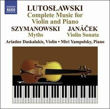 Lutoslawski: Complete Music for Violin and Piano, New Music