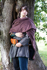 MEDIEVAL/LARP/SCA Re enactment REVERSIBLE ARCHER/RIDING CLOAK 1 size