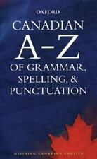 NEW - Canadian A to Z of Grammar, Spelling, and Punctuation