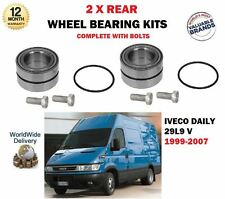 FOR IVECO DAILY 29 L9 2.8D 1999-2007 NEW 2 X REAR WHEEL BEARINGS COMPLETE KIT