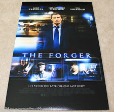 JOHN TRAVOLTA SIGNED AUTHENTIC 'THE FORGER' 12X18 MOVIE POSTER PHOTO w/COA PROOF