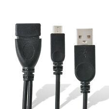 MICRO USB HOST OTG A Female To Micro Male Power Cable For Andorid Samsung Htc