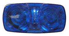 Peterson Manufacturing Double Bulls-Eye Clearance Marker Replacment Lens - Blue
