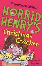 Horrid Henry Story Book - HORRID HENRY'S CHRISTMAS CRACKER - NEW