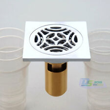 Copper Stainless Steel Kitchen Balcony Bathroom Sink Shower Waster Floor Drain