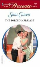 The Forced Marriage by Sara Craven (2003, Paperback)