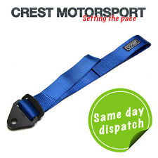 TRS Ajustable Remolque Ojo strap/loop Azul (MSA cumple) race/rally/competition
