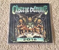Obscene Extreme 2016 Festival Death Grind Cd New Extreme Noise Terror