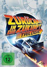 ZURÜCK IN DIE ZUKUNFT Trilogy Teil 1 2 3  30th ANNIVERSARY EDITION 4 DVD Box NEU
